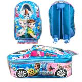 Beli Bgc Tas Ransel Sekolah Anak Tk Tas Mobil On The Road Frozen Fever Blue Pake Kartu Kredit