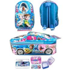 Review Tentang Bgc Tas Ransel Sekolah Anak Tk Tas Mobil On The Road Frozen Fever Lunch Bag Aluminium Tahan Panas Kotak Pensil Alat Tulis Blue