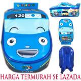 Jual Bgc Tas Ransel Sekolah Anak Tk Tas Mobil On The Road Tayo Tayo Bus Blue Lengkap