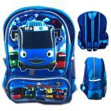 Ulasan Lengkap Bgc Tas Ransel Sekolah Anak Tk Tayo Biru 3D Timbul Hard Cover Blue