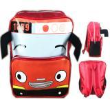 Bgc Tas Ransel Sekolah Anak Tk Tayo Tayo 3D Kepala Bus Merah Bgc Diskon 30