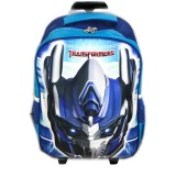 Beli Barang Bgc Tas Troley Sekolah Anak Sd Transformer Optimus Prime 3D Timbul Hard Cover Biru Online