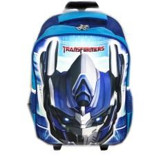 Harga Bgc Tas Troley Sekolah Anak Sd Transformer Optimus Prime 3D Timbul Hard Cover Biru