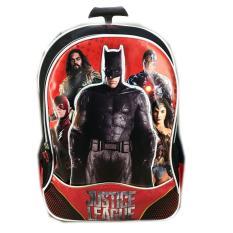 Diskon Bgc Tas Troley Sekolah Anak Tk Justice League Batman The Flash Wonder Women Cyborg 3Dtimbul Black Red Branded