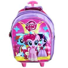 Harga Bgc Tas Troley Sekolah Anak Tk My Little Pony 3D Timbul Full Motif Pony Baru Murah