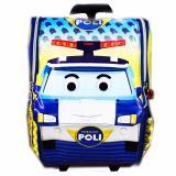 Top 10 Bgc Tas Troley Sekolah Anak Tk Robocar Poli 3D Timbul Yellow Online