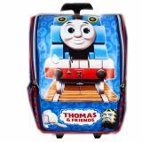 Jual Bgc Tas Troley Sekolah Anak Tk Thomas Kereta 3D Timbul Blue Banten