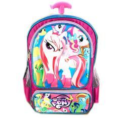 Spek Bgc Tas Troleyanak Sekolah Tk My Little Pony3D Timbul Hard Cover