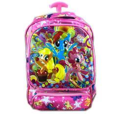 Toko Bgc Tas Troleysekolah Anak Sd My Little Pony 4 Kantung Bawah Full Motif Pony Termurah Di Banten