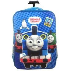 Ulasan Mengenai Bgc Thomas And Friends 3D Timbul Hard Cover Tas Troley Sekolah Anak Sd Blue