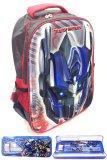 Beli Bgc Transformer Optimus Prime 3D Timbul Hard Cover Tas Sekolah Anak Sd Kotak Pensil Alat Tulis Biru Merah Baru
