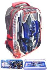 Beli Bgc Transformer Optimus Prime 3D Timbul Hard Cover Tas Sekolah Anak Sd Kotak Pensil Alat Tulis Biru Merah Cicilan
