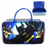 Harga Bgc Travel Bag Kanvas Batman Lego Movie Blue White New