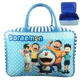 Perbandingan Harga Bgc Travel Bag Kanvas Doraemon And Friends Blue White Bgc Di Banten
