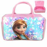 Harga Bgc Travel Bag Kanvas Frozen Anna Full Motif Sakura Pink White Original