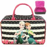 Spesifikasi Bgc Travel Bag Kanvas Frozen Fever Stripes Black White Terbaru