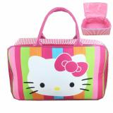 Tips Beli Bgc Travel Bag Kanvas Hello Kitty Full Face Rainbow