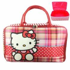 Spesifikasi Bgc Travel Bag Kanvas Hello Kitty Say Hello Red White Bgc