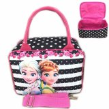 Harga Termurah Bgc Travel Bag Kanvas Mini Selempang Frozen Fever Black Strip 2