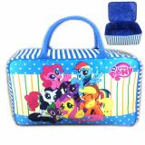 Toko Bgc Travel Bag Kanvas My Little Pony Rainbow Dash And Friends New Blue White Bgc