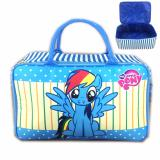 Promo Bgc Travel Bag Kanvas My Little Pony Rainbow Dash New Black Red Murah