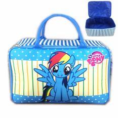 Beli Bgc Travel Bag Kanvas My Little Pony Rainbow Dash New Black Red Cicilan