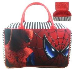 Beli Bgc Travel Bag Kanvas Spiderman Spidey Black Red Bgc Murah