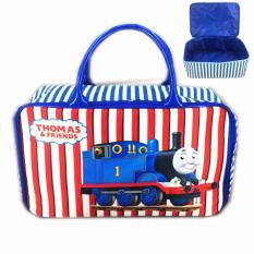 Jual Bgc Travel Bag Kanvas Thomas Kereta 2 Blue White Branded Murah