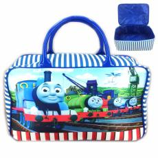 BGC Travel Bag Kanvas Thomas Kereta - BLue White