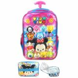 Jual Bgc Tsum Tsum Mickey Minnie And Friends3D Timbul Hard Cover Tas Troley Sekolah Anak Sd Lunch Bag Aluminium Tahan Panas Pink Blue Bgc Asli