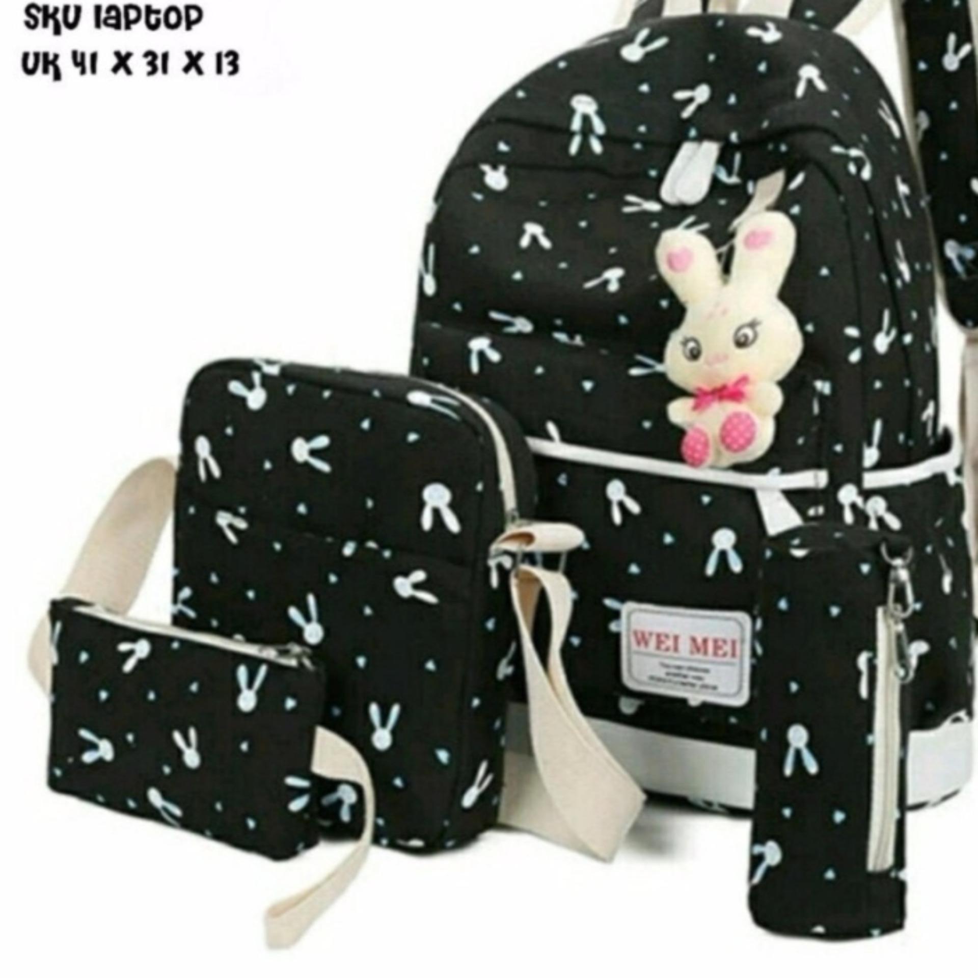 Garsel Tas Ransel Anak Sekolah Plus Gratis Botol Minum Dan Lunchbox Troli Sekolahcasual Dolby 471 Gwi 8319 Pink Bhl Backpack