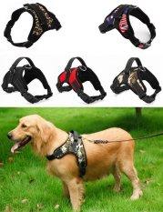 Jual Big Dog Soft Harness Bisa Disesuaikan Pet Dog Big Exit Harness Rompi Kerah Tali Untuk Kecil Dan Besar Anjing Pitbulls Kamuflase Bendera M