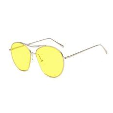 Situs Review Bingkai Besar Personalized Laut Lensa Kacamata Kuning