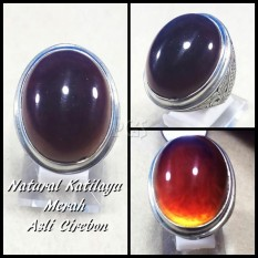 BIG SIZE CINCIN BATU AKIK NATURAL RED KATILAYU ORIGIN CIREBON