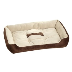 Ukuran Besar Anjing Besar Bed Kennel Mat Soft Peliharaan Nyaman Tempat Tidur Hangat Rumah Plush-