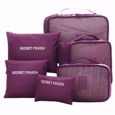 Review Big Size Travel Bag Organizer 6 In 1 Tas Dalam Koper Ungu Prime