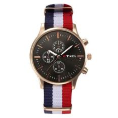 Jual Bigskyie Mewah Jam Tangan Classics Canvas Band Analog Watch Quartz Wrist Watch Hadiah Oem Di Tiongkok