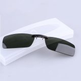 Diskon Bikight Polarized Clip On Sunglasses Pria Mengemudi Night Vision Lens Sunglasses Pria Anti Uva Uvb Intl Tiongkok