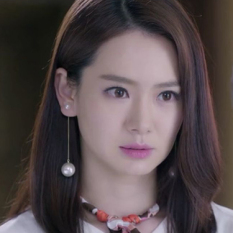 Bintang Korea Modis Gaya Produk Asli Model Sama Daun Anting Anting Mutiara Rantai