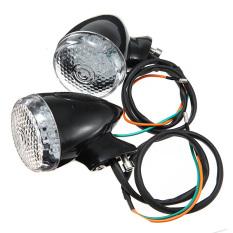 Jual Cepat Hitam Amber Peluru Cahaya Lampu Sein Led Untuk Harley Custom Sportster