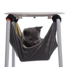 "Hitam Cat Hammock BED-Kota Kitty-Hanging Soft PET Bed Digunakan With Crate, Cage atau Kursi Bandung Photo: ""Kucing Musang, Puppy, atau Kecil PET Oleh LE Bulu-Intl"