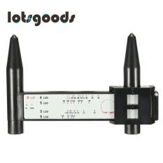 Black Handheld 4 5 6 8 Lug Pengukuran Cepat. Pola Baut Roda Gauge Tool-Intl