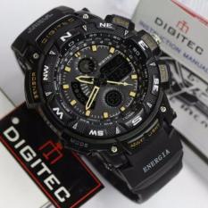 Black Ocean Energia Digitec Sport Double Time Quartz DG2044T Black Gold