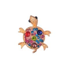 Blackhorse Korea Gold Bros Lot Pernikahan Bros Jilbab Memenitikan Broches Gratis Antik Perhiasan Bros Buket Turtle Barang Antik Grosir Lot