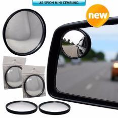 Blind Spot Slim / Kaca Cermin Spion Mini Tambahan Mobil Motor Blindspot Isi 1 By V Auto.