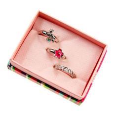 Toko Blink Av N New Fashion Exquisite 3 In 1 Box Ring Lengkap Jawa Timur