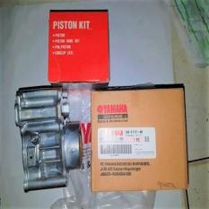 Blok Seher & Blok Mesin Set Piston Kit Xeon Injeksi  Original Yamaha