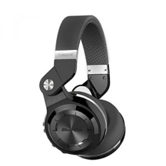 Bluedio Turbin T2s Nirkabel Bluetooth Headphone dengan Mic, 57mm Driver/Rotary Folding (Hitam)-Intl