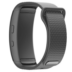 BLUESKY Silicone Replacement Memperbaiki Jam Tangan Band Strap Bracelet untuk Samsung Gear Fit 2 SM-R360. Grey-Intl