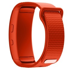 BLUESKY Silicone Replacement Memperbaiki Jam Tangan Band Strap Bracelet untuk Samsung Gear Fit 2 SM-R360. Orange-Intl
